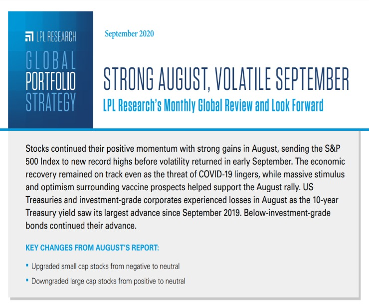 Global Portfolio Strategy | September 11, 2020